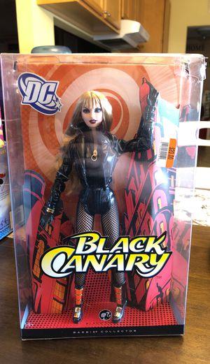 DC COMIC •Rare• BLACK CANARY BARBIE for Sale in Ramona, CA