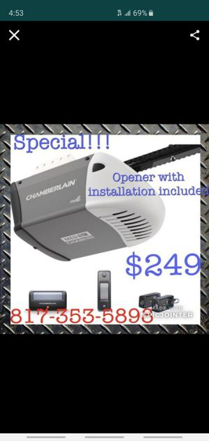 Garage Door Opener for Sale in Arlington, TX