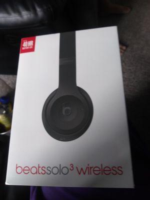 Beats by dre beats solo 3 wireless for Sale in Federal Way, WA