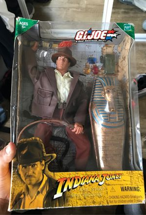 Indiana Jones action figure in box for Sale in Los Angeles, CA