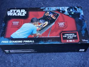 Starwars Free Standing Pinball Machine for Sale in Sunrise, FL