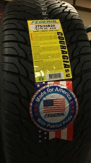 BRAND NEW SET OF TIRES 275 55 20 Y for Sale in Phoenix, AZ