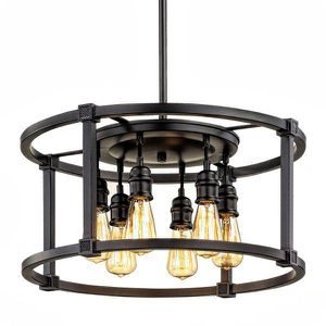 Home Decorators Collection Romaro Row 6-Light Aged Bronze Dinette Chandelier. BRAND NEW! for Sale in Plantation, FL