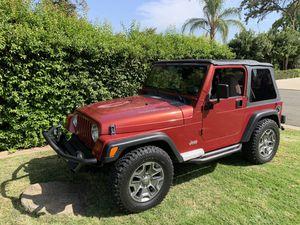 1999 Jeep Wrangler for Sale in Fresno, CA