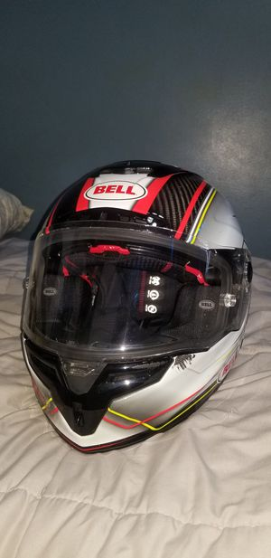 Bell Bell Race Star Full-Face Motorcycle Helmet for Sale for sale  Queens, NY