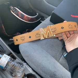 MCM Leather Belt for Sale in Aurora, IL