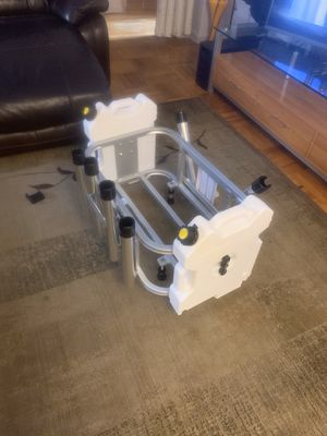 Jetski fishing rack with cooler and 2 gallon gas can for Sale in Brooklyn, NY