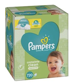 Pampers Wipe - 720 Pack for Sale in Anaheim, CA