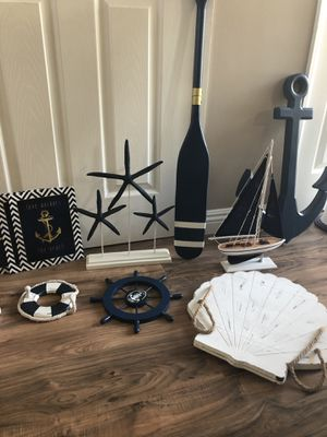 Nautical Home Decorations from Hobby Lobby for Sale in Santa Clarita, CA