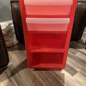 Red Plastic Storage Bins for Sale in Tacoma, WA