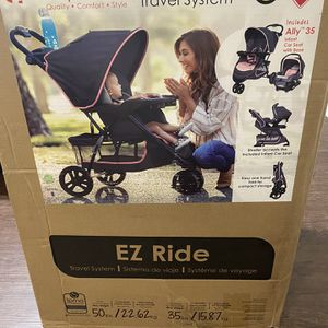 Blue and Pink Baby Stroller w/ Infant Car seat Brand New!! for Sale in Dallas, TX