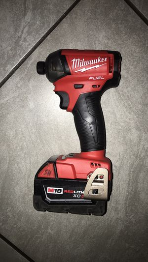 Milwaukee **Firm 135**Firme 135**No charger**No cargador for Sale in Modesto, CA