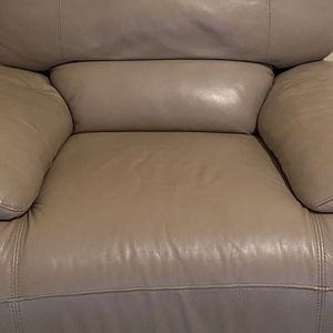 Beige Oversized Reclining Couch for Sale in Canton, GA