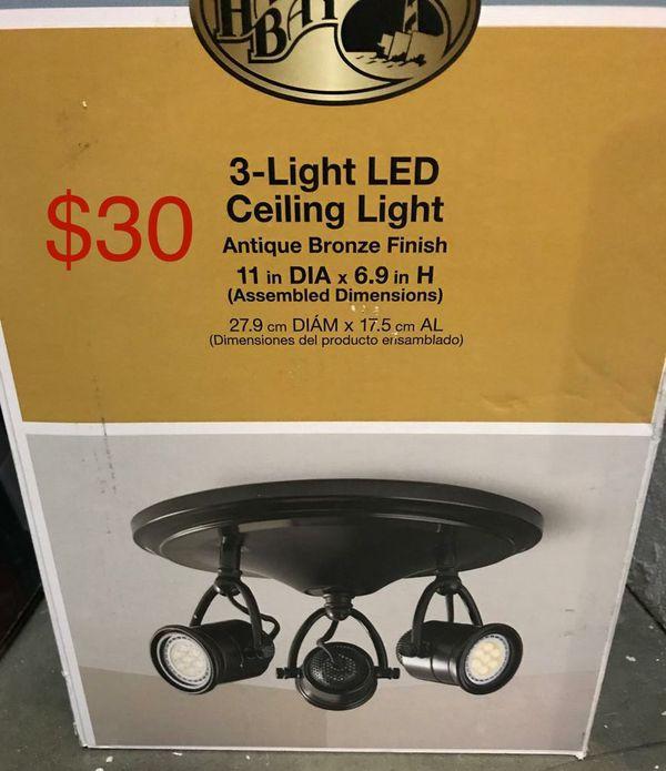Hampton 3 Light LED ceiling Light