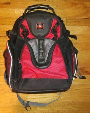 Swiss Gear Maxxum Double Zipper Blk/Red Backpack for Sale in Everett, WA