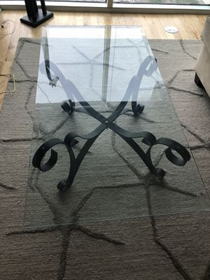 Glass Coffee Table for Sale in Tampa, FL