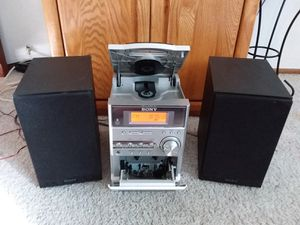 Sony Micro HiFi Component System w/Remote for Sale in Vacaville, CA