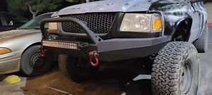 Offroad bumper with winch mount for Sale in Victorville, CA