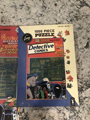 Batman comic puzzle for Sale in La Center, WA