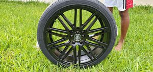 "Dodge charger,challenger, 300 22"" Curva Gloss Black rims for Sale in Dania Beach, FL"