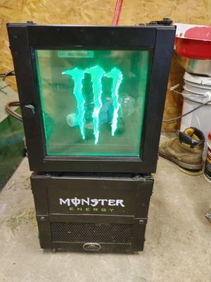 Monster mini fridge for Sale in Mount Morris, MI