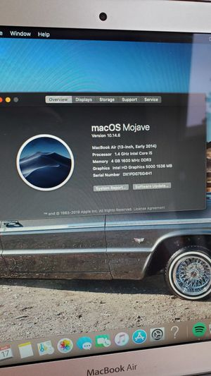 2014 Macbook Air for Sale in Portland, OR
