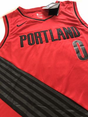 Lillard Portland Nike nba jersey men's large for Sale in Cuba, MO