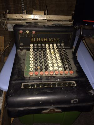Burroughs type writer (very old) for Sale in Wenatchee, WA