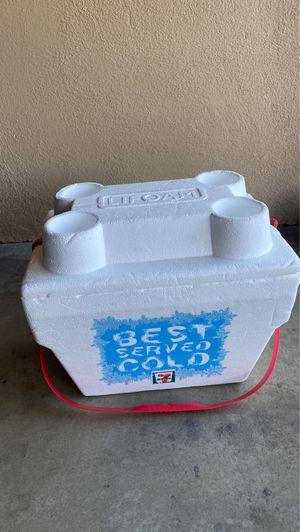 7-eleven styrofoam cooler for Sale in Downey, CA