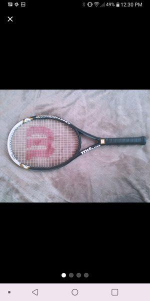 Wilson Tennis racket + Bag for Sale in Manteca, CA