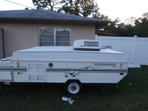 2002 Rockwood premiere pop up camper for Sale in Spring Hill, FL