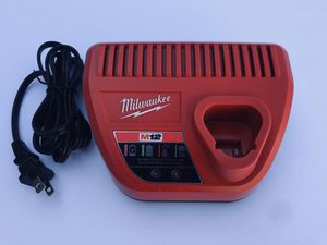 Milwaukee M12 12-Volt Lithium-Ion Battery Charger for Sale in Phoenix, AZ