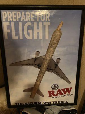 "RAW Poster ""Prepare For Flight"" for Sale in Tampa, FL"