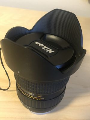 Tokina 11-16mm AT-X Pro wide angle lens Nikon for Sale in Snohomish, WA