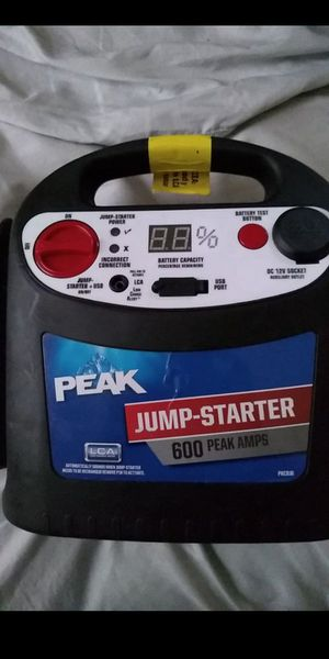 Peak Jump Starter for Sale in NEW CARROLLTN, MD