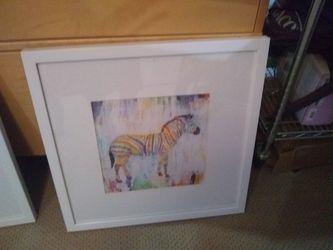 Brand New Zebra Picture...Retails for over $130 for Sale in El Cajon,  CA