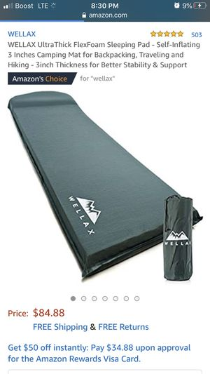 Sleeping pad for camping for Sale in College Park, GA