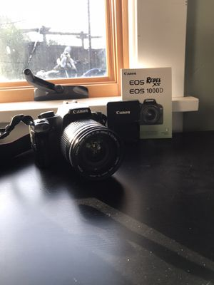 Brand New Cannon camera, 275$OBO SEND OFFERS NEED GONE for Sale in Richmond, CA