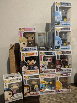 Funko Pop exclusive collection great presents. for Sale in Costa Mesa, CA