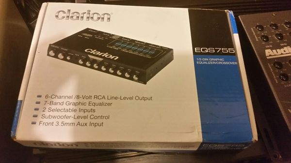 Audion Bit One, Audio Control EQX, & Clarion EQS 755 for Sale in Holly  Ridge, NC - OfferUp