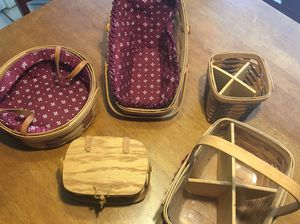 Longaberger Baskets for Sale in Austin, TX