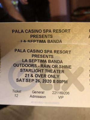La Septima Banda pala Casino for Sale in Pala, CA