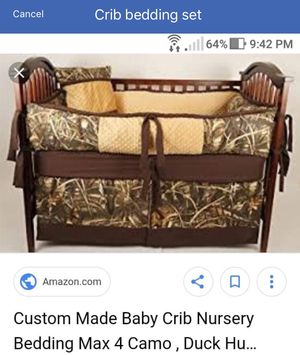 Crib bedding set for Sale in Avonmore, PA