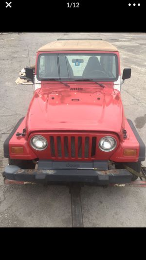 1998 Jeep Wrangler parts only for Sale in East Cleveland, OH
