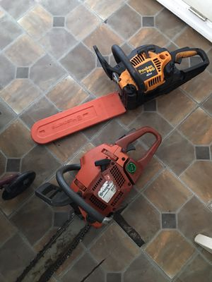 2 chainsaws $250 OBO for Sale in Lake Wales, FL