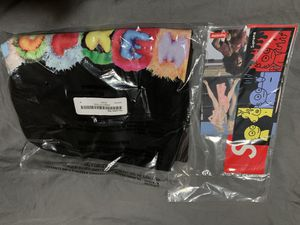 Brand new Supreme Pillow Tee Black Medium with stickers for Sale in Arnold, MO