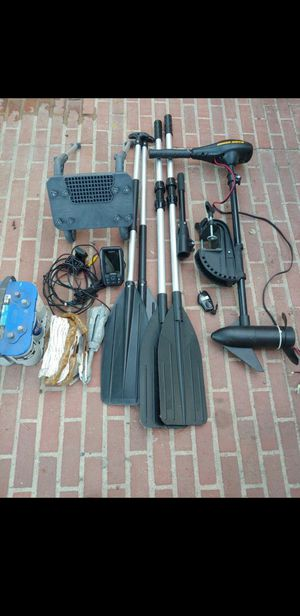 Inflatable boat parts ALL FOR 350 for Sale in Baldwin Park, CA
