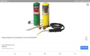 Oxygen and acetylene cutting torch and welder for Sale in Tacoma, WA