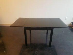 IKEA BJURSTA Extendable table black for Sale in Washington, DC