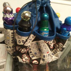Bingo tote with baubers for Sale in St. Petersburg, FL